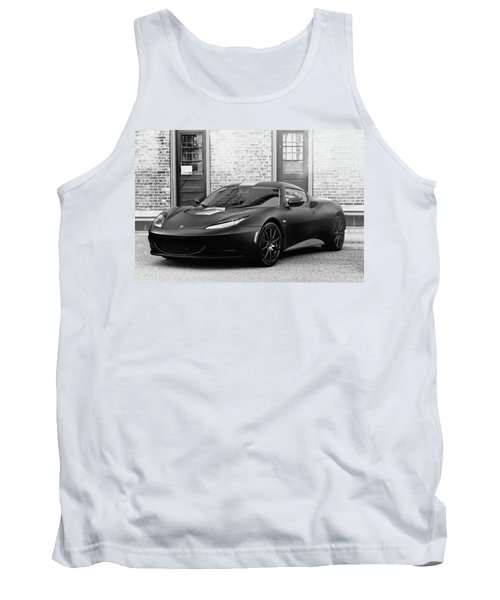 Tank Top featuring the photograph Lotus Evora by Joel Witmeyer