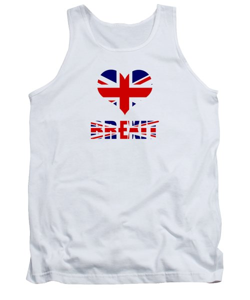Love Brexit Tank Top by Roger Lighterness