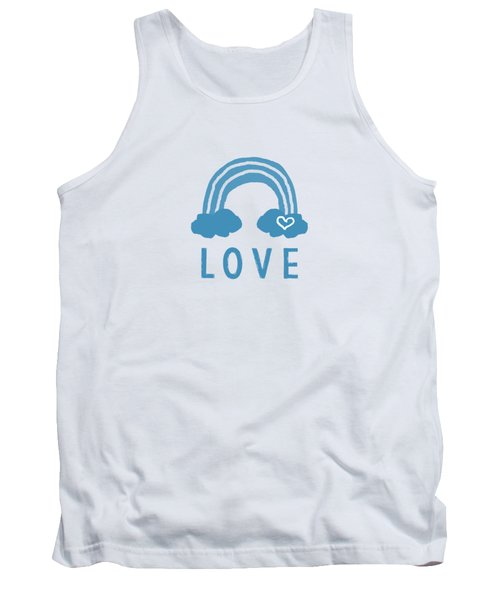 Love Rainbow- Art By Linda Woods Tank Top