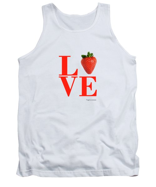 Love Strawberry Tank Top
