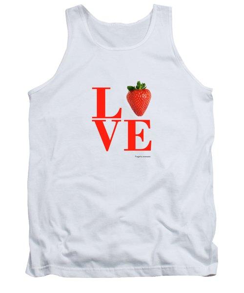 Love Strawberry Tank Top