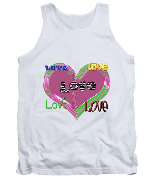 Love T-shirt Clothing Tank Top