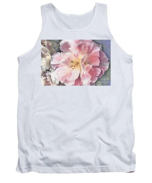 Loveliness Flower Tank Top by Marsha Heiken