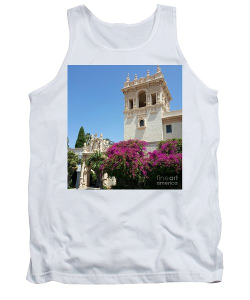Lovely Blooming Day In Balboa Park San Diego Tank Top by Jasna Gopic