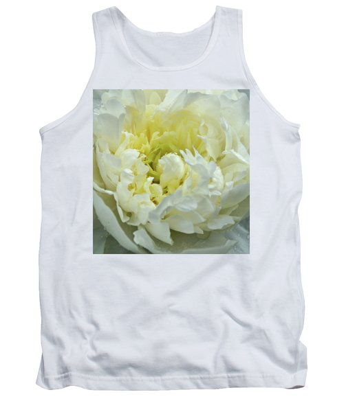 Tank Top featuring the photograph Lovely Peony by Sandy Keeton