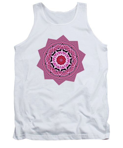 Loving Rose Mandala By Kaye Menner Tank Top