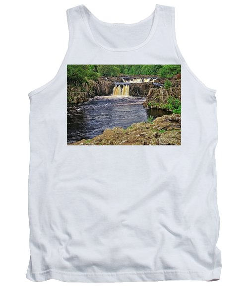 Low Force Waterfall, Teesdale, North Pennines Tank Top