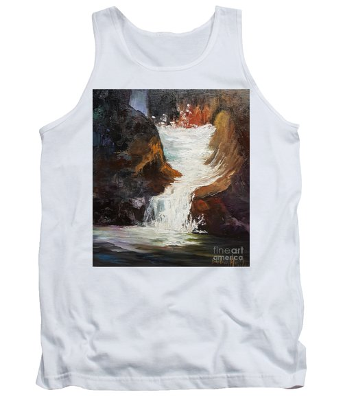 Lower Chasm Waterfall Tank Top