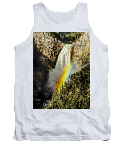 Lower Falls- Yellowstone Park Tank Top