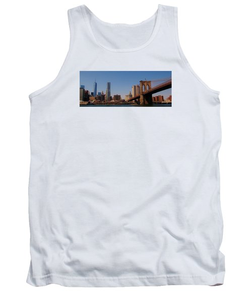 Lower Manhattan Nyc Tank Top