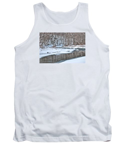 Loyalhanna Creek - Wat0100 Tank Top by G L Sarti