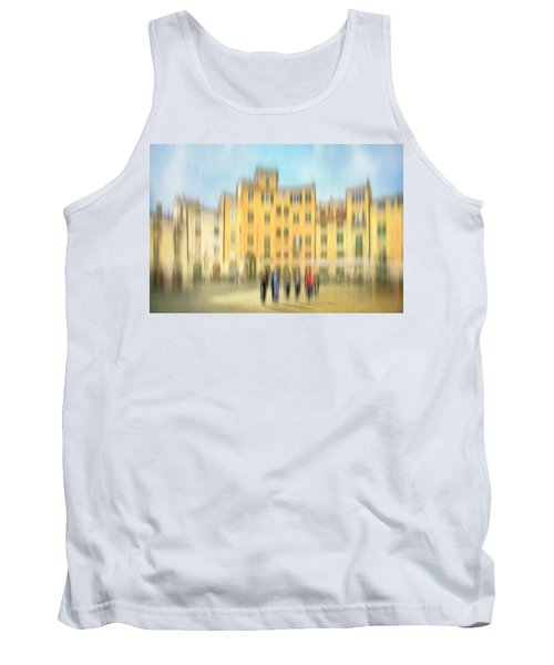 Lucca Ampitheatre Impression 2 Tank Top by Marty Garland