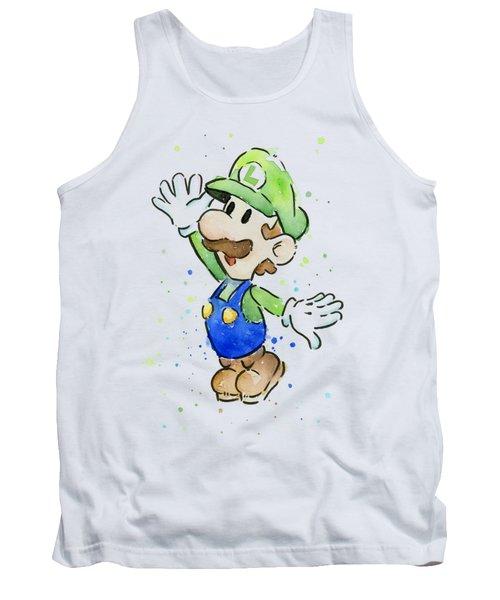 Luigi Watercolor Tank Top
