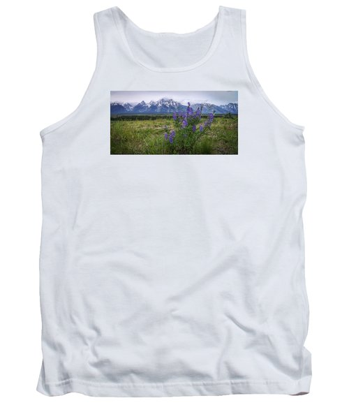 Lupine Beauty Tank Top by Chad Dutson