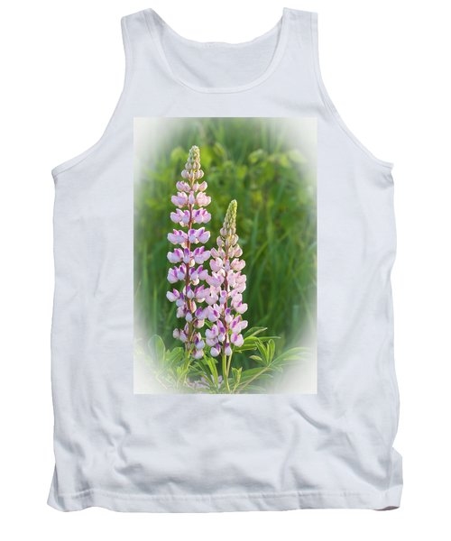 Lupine Pair Tank Top by Paul Miller