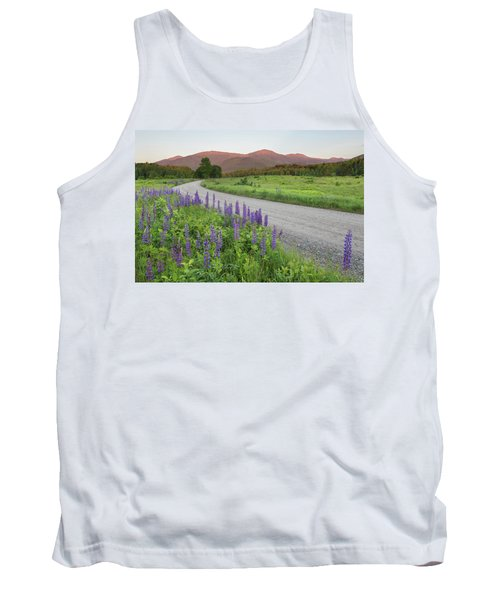 Lupine Sunset Road Tank Top