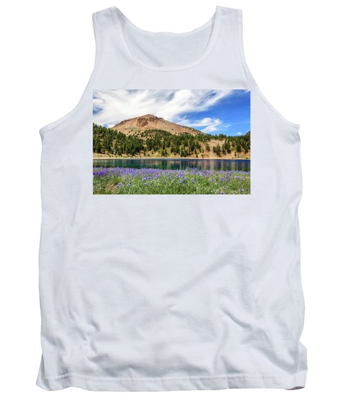 Lupines Lake And Lassen Tank Top