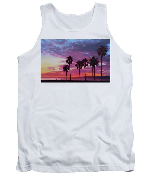Tank Top featuring the painting Lush by Andrew Danielsen