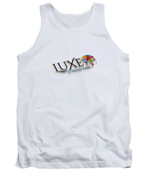 Luxe Logo 3d 2 Tank Top