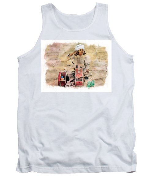 Luxor Shoeshine Girl Tank Top