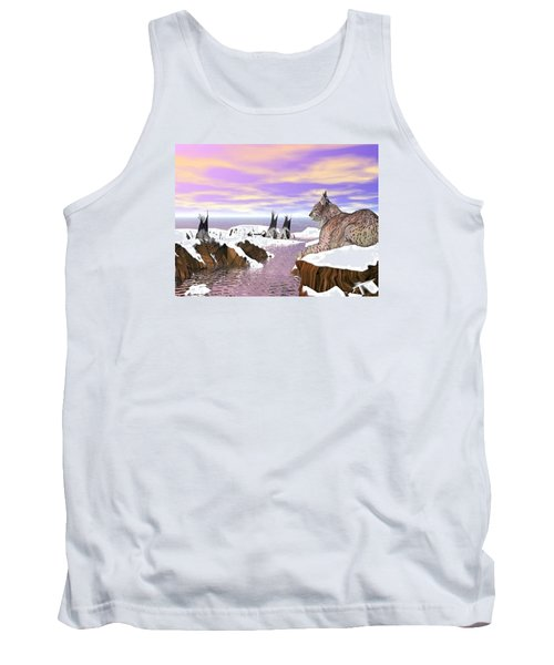 Lynx Watcher Render Tank Top