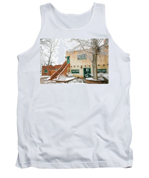 Tank Top featuring the photograph Mabel Dodge House 2 by Marilyn Hunt