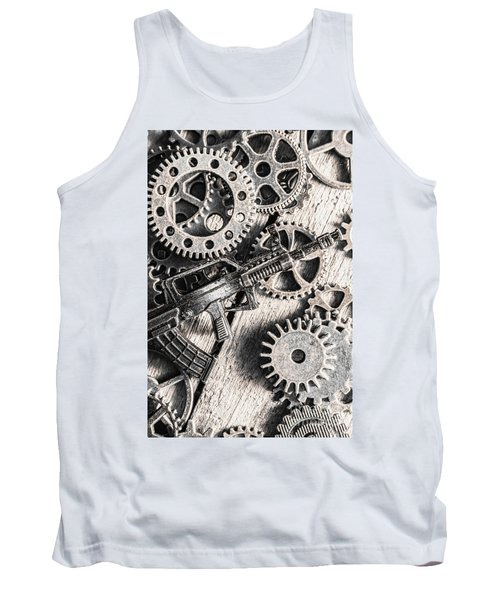 Machines Of Military Precision  Tank Top