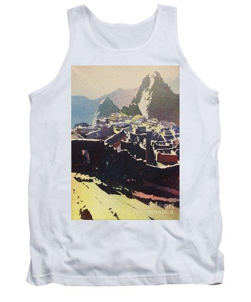 Machu Picchu Morning Tank Top