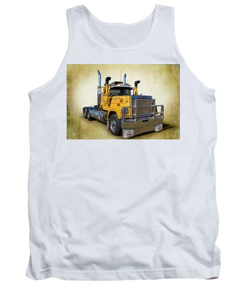 Mack Truck Tank Top by Keith Hawley