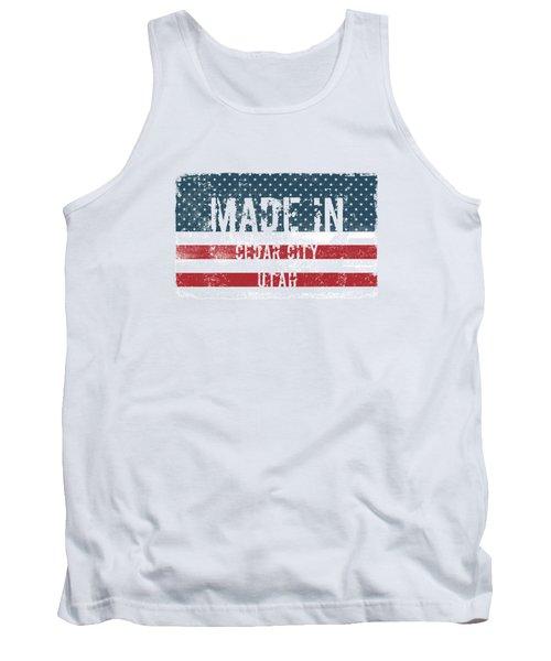 Made In Cedar City, Utah Tank Top