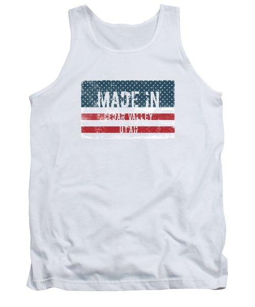Made In Cedar Valley, Utah Tank Top
