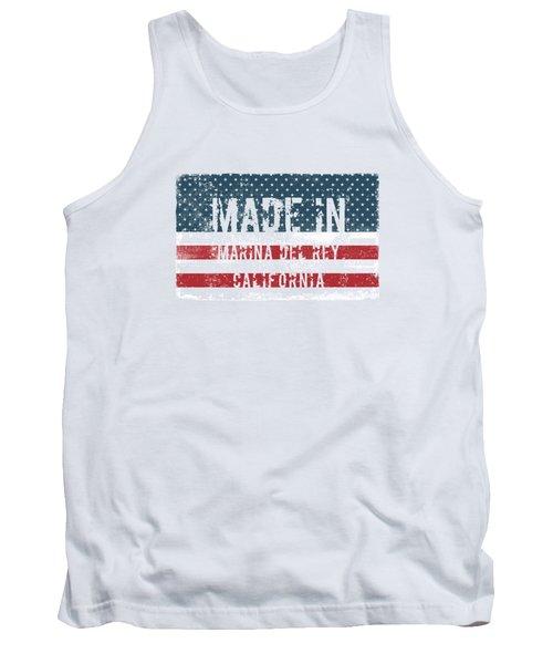 Made In Marina Del Rey, California Tank Top