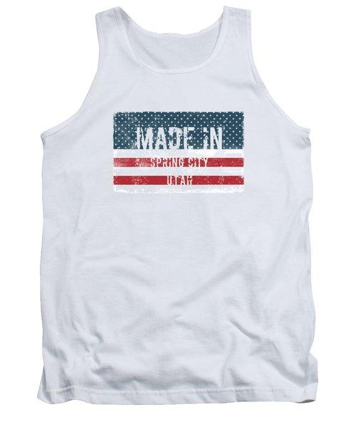 Made In Spring City, Utah Tank Top