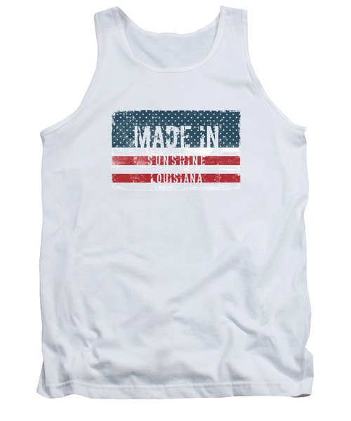 Made In Sunshine, Louisiana Tank Top