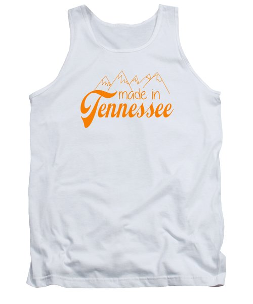 Made In Tennessee Orange Tank Top