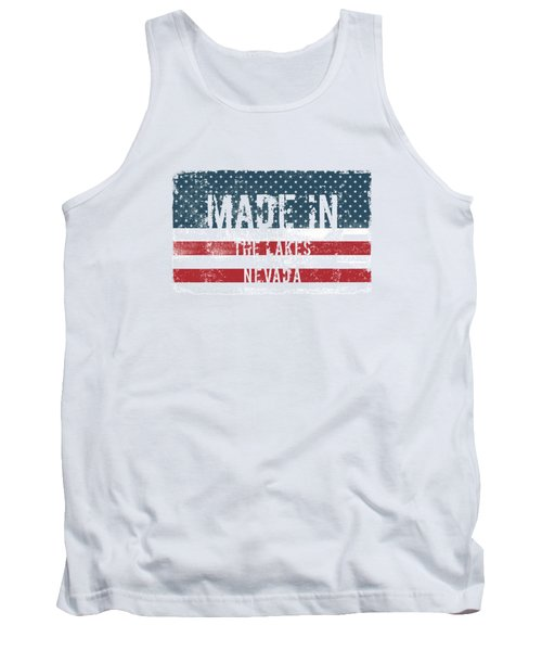Made In The Lakes, Nevada Tank Top