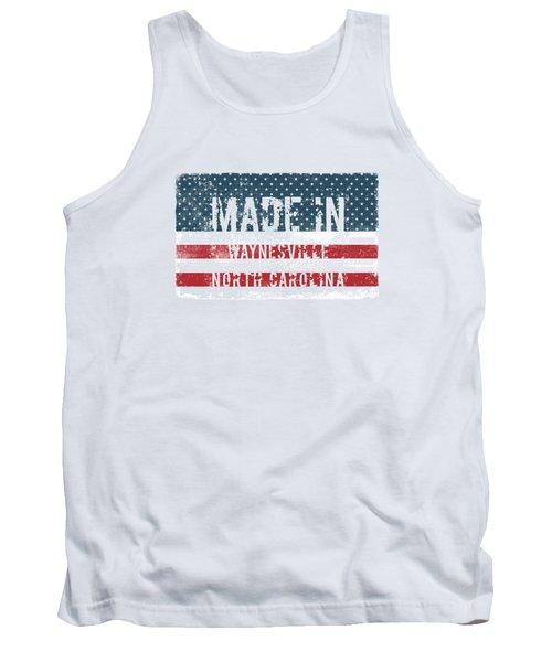 Made In Waynesville, North Carolina Tank Top