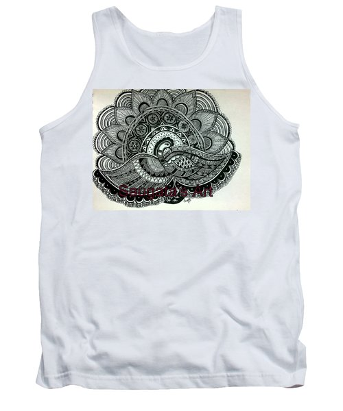 The Magnificent Peacock Tank Top