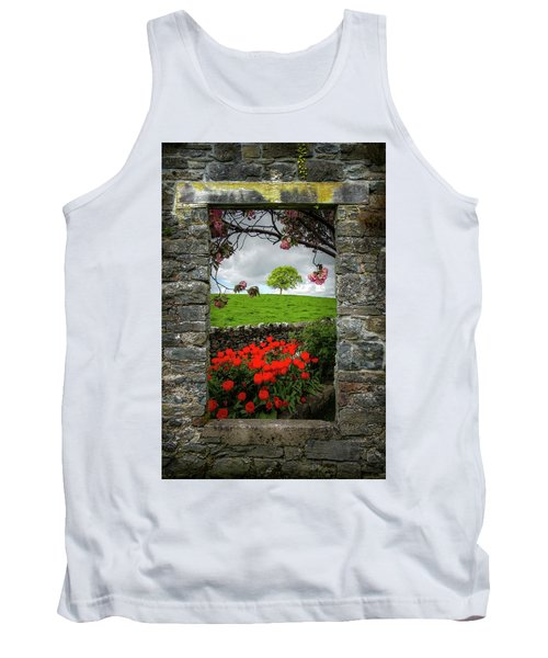 Tank Top featuring the photograph Magical County Clare Countryside by James Truett