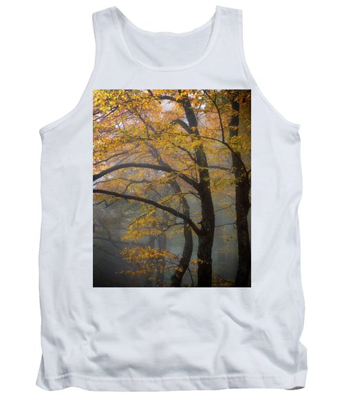Magical Forest Blue Ridge Parkway Tank Top