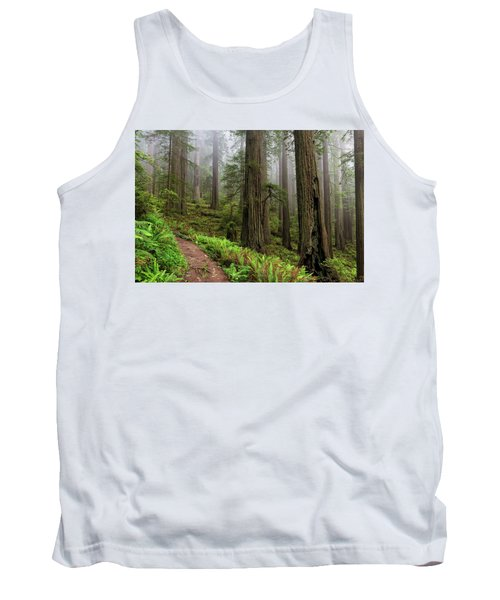 Magical Forest Tank Top by Scott Warner