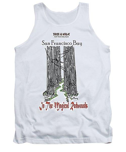 Magical Redwoods  Tank Top