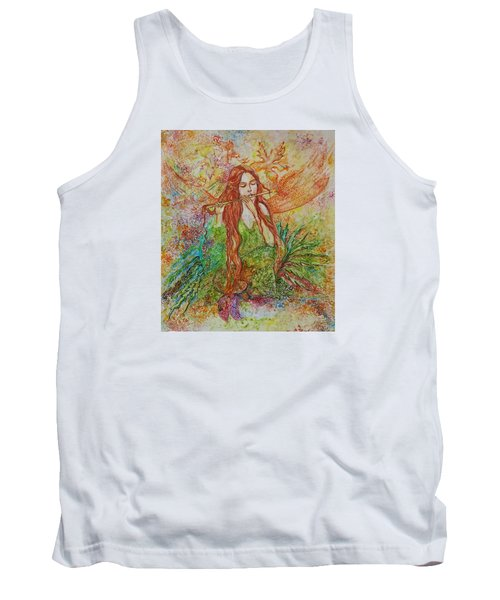 Magical Song Of Autumn Tank Top by Rita Fetisov