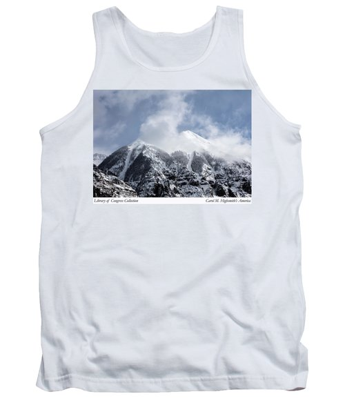 Magnificent Mountains In Telluride In Colorado Tank Top by Carol M Highsmith