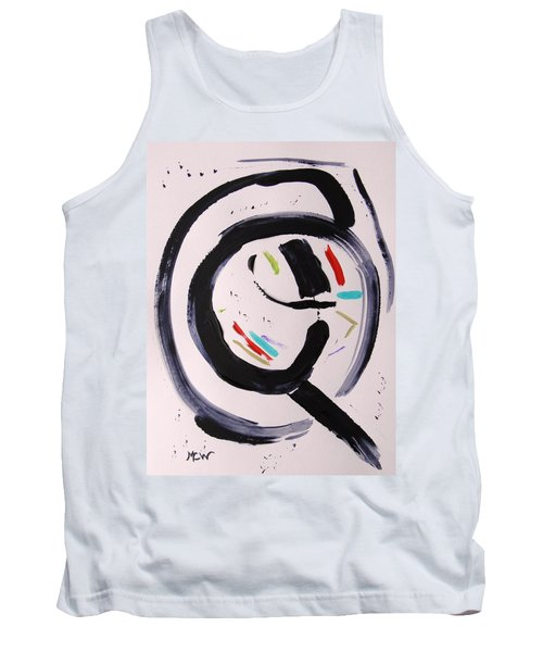 Tank Top featuring the painting Magnifying by Mary Carol Williams