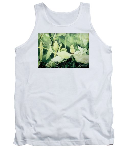 Tank Top featuring the painting Magnolium Opus by Elizabeth Carr