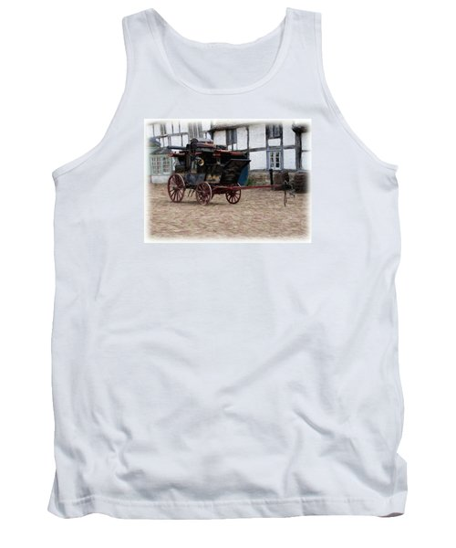 Mail Coach At Lacock Tank Top