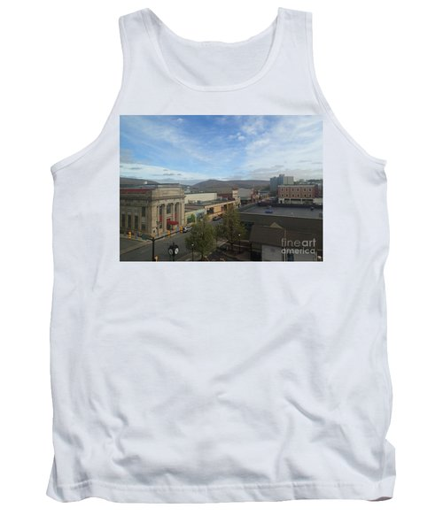 Main St To The Mountains   Tank Top by Christina Verdgeline
