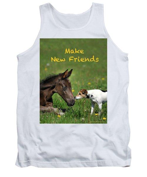 Make New Friends Tank Top