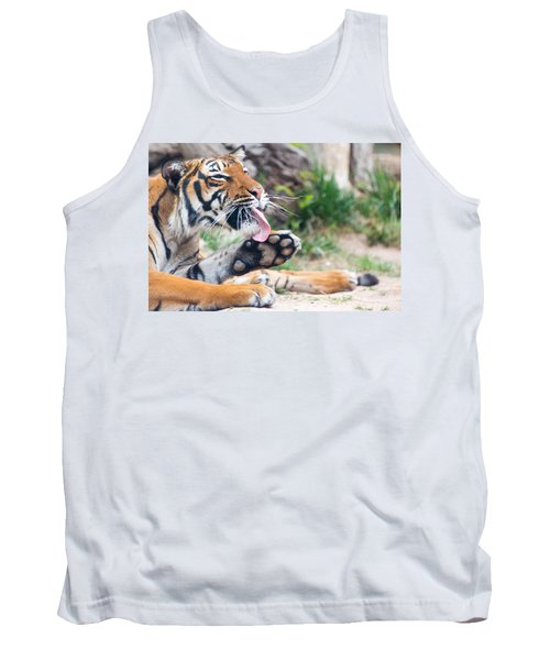 Malayan Tiger Grooming Tank Top